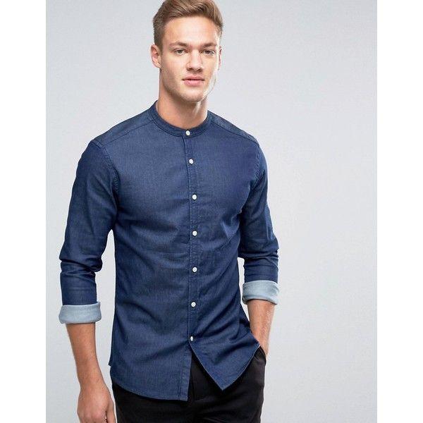 Best 20  Grandad collar shirt ideas on Pinterest   Men shirt ...