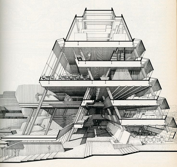 Best Paul Rudolph Ideas On Pinterest Architectural Drawings