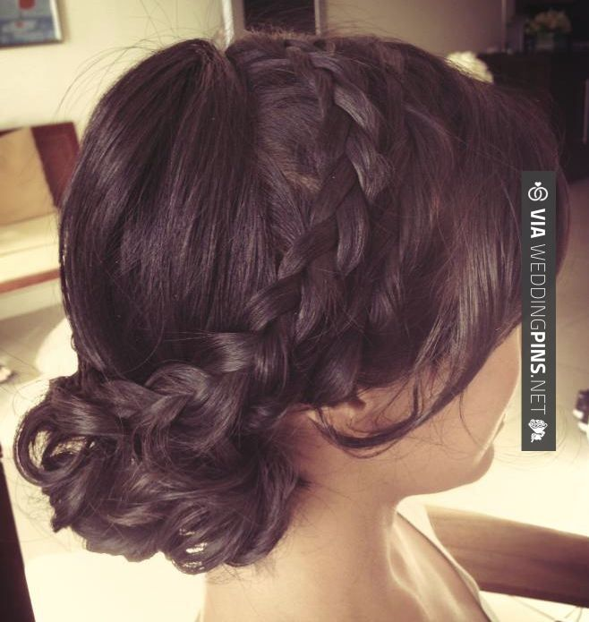 Neat! - wedding hairstyles for long hair Trend Alert: Creative and Elegant Wedding Hairstyles for Long Hair | CHECK OUT THESE OTHER COOL SHOTS OF GREAT wedding hairstyles for long hair HERE AT WEDDINGPINS.NET | #weddinghairstylesforlonghair #weddinghairstyles #weddinghair #hairstyles #hair #boda #weddings #weddinginvitations #vows #tradition #nontraditional #events #forweddings #iloveweddings #romance #beauty #planners #fashion #weddingphotos #weddingpictures
