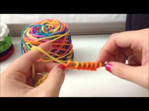 ▶ Tunisian Crochet - Afghan Stitch(simple stitch) Foundation Row - YouTube
