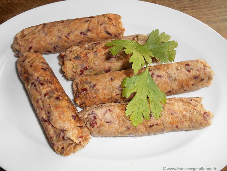 Saucisse de Chou #recette #végétal #vegan @ France Végétalienne