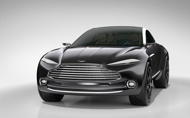 2020 Aston Martin DBX Front View
