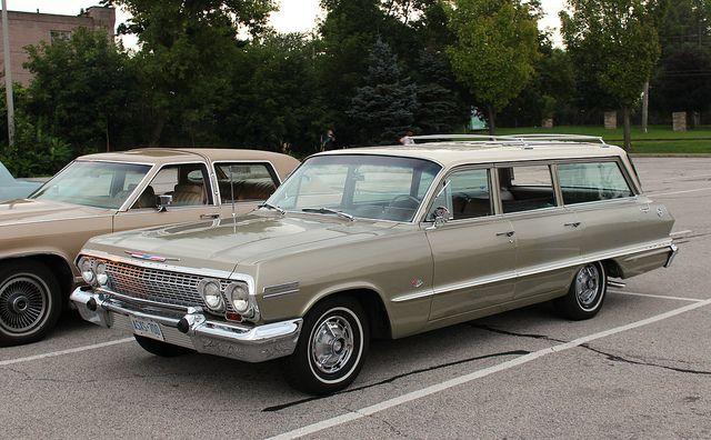 1963 Chevrolet Impala Wagon.