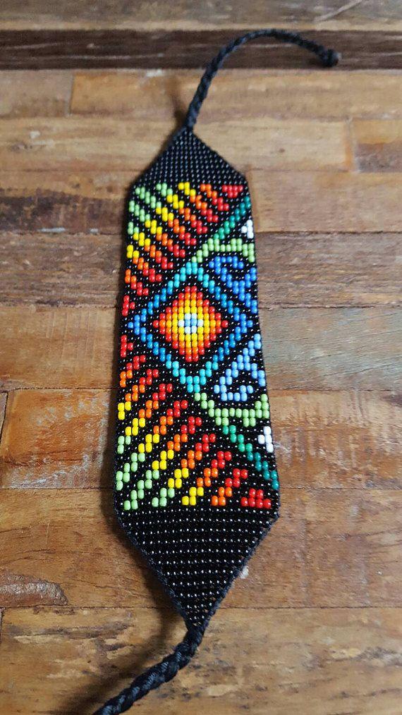 Cordón de protección con cuentas Pulsera 23 arco iris