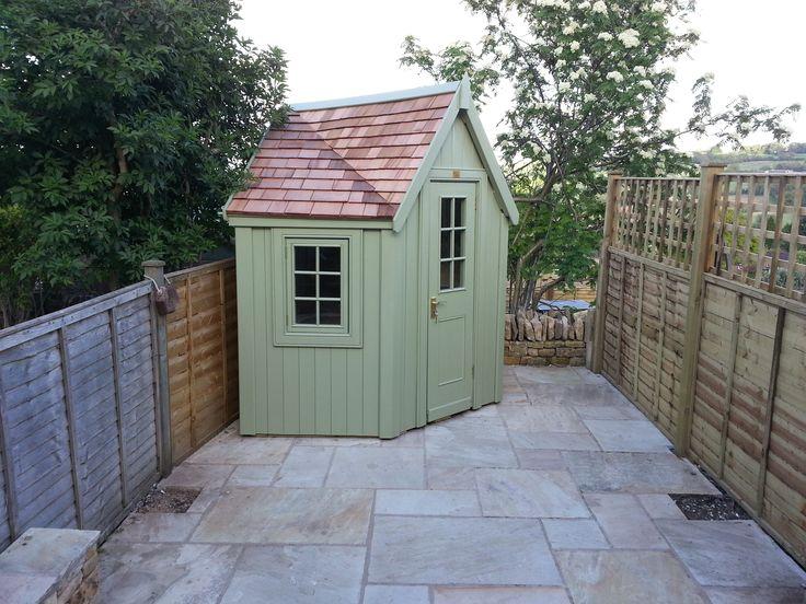 38 best images about bespoke posh sheds on pinterest for Bespoke garden sheds