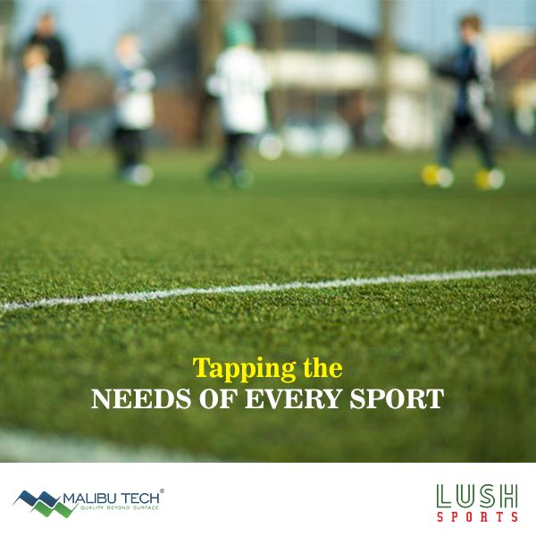 We don't just bring a better sports turf. We also bring the experience of the past and tap the need of the future sports fields.   #Malibutech #LushSports #SyntheticTurf