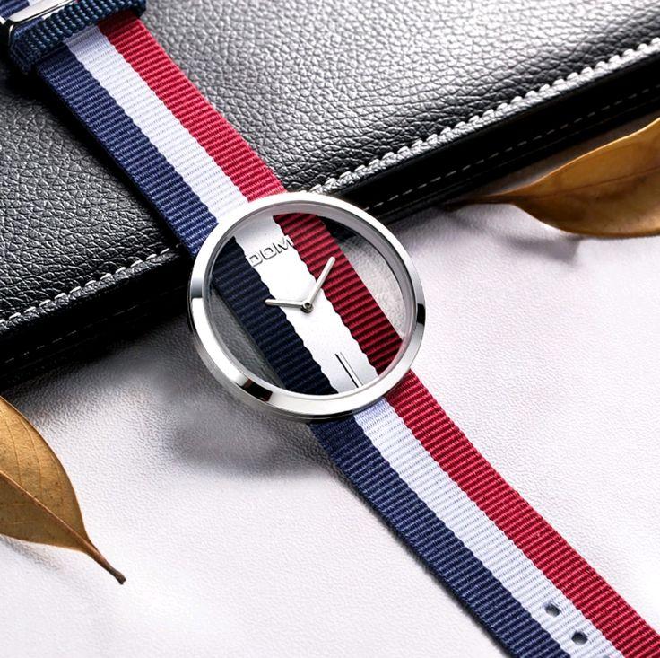 Precioso reloj de señora eskeleton de cuarzo de la prestigiosa marca DOM ,sumergible 30m,correa de nylon.  Longitud correa 19cm  Grosor de la caja 8mm  Tipo de cierre :hebilla  Diámetro del dial 40,5mm  Material de la caja:aleación  Material correa: nylon  Ancho correa 21mm  Modelo : LP-205.2  Llegada envio de 15/25 días | Shop this product here: http://spreesy.com/Aromas/107 | Shop all of our products at http://spreesy.com/Aromas    | Pinterest selling powered by Spreesy.com