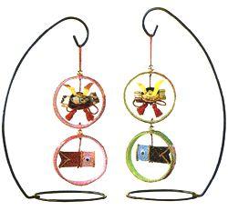 Chirimen,Japanese kimono decoration for children's day