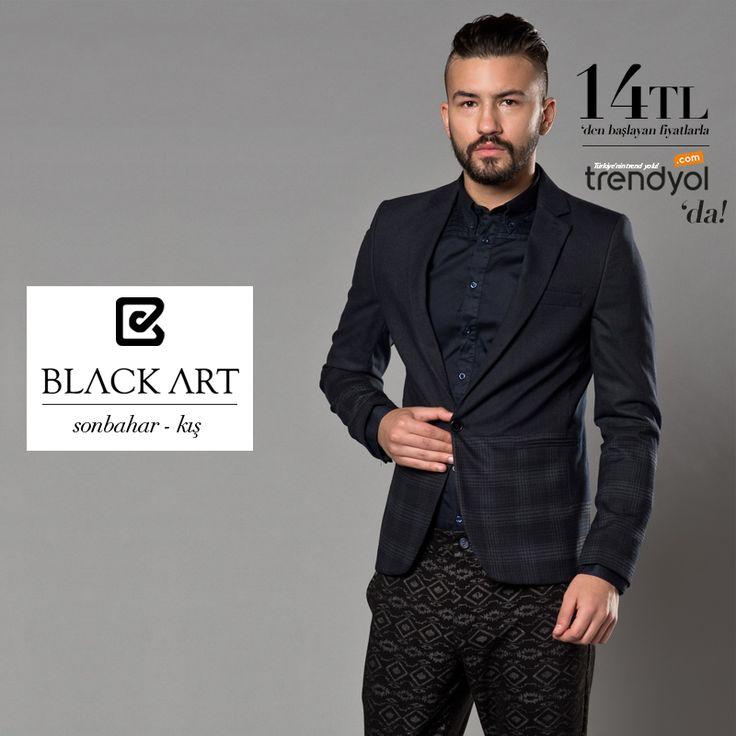 Black Art, erkek giyiminde farkl? stil ve tasarımları ile dikkati çekecek bir koleksiyon sunuyor. Sanatsal Dokunu?lar? ile Türkiye'nin Trendyol'unda!  #ceket #gomlek #tshirt #pantolon #kaban #mont #triko #fashion #men #sale #man #forsale #kampanya #sanatsaldokunus @trendyol `da! http://goo.gl/Vu4zRu