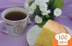 Фото рецепта: «Творожно-кукурузный кекс»