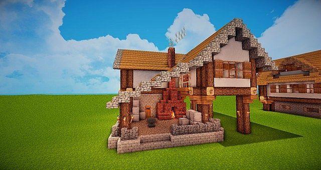 Medieval Forge Blacksmith Minecraft Project Minecraft Projects Minecraft Medieval Minecraft Medieval Village