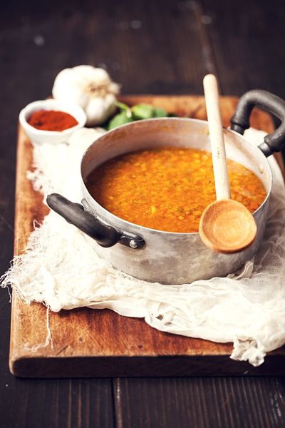 Turkish Red Lentil Soup / soup is an international comfort food.  i love seeing how different cultures make it their own.