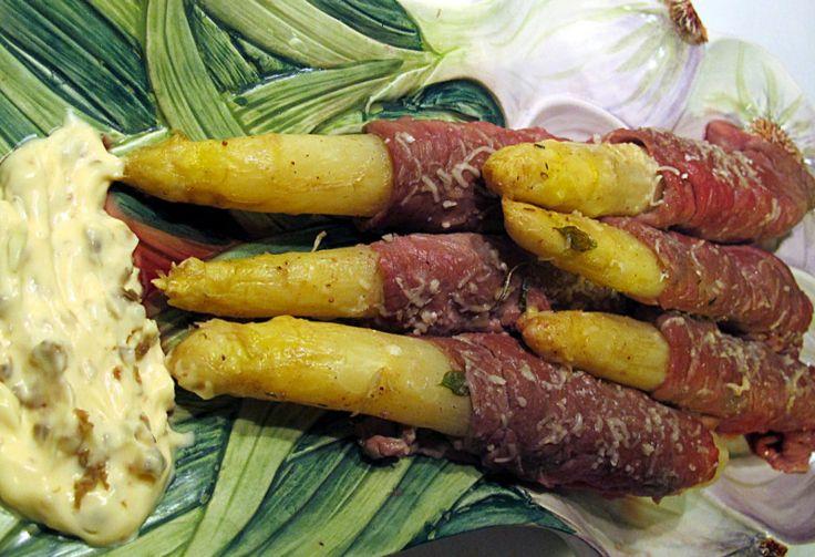 Tentazioni di gusto: Asparagi bianchi di Bassano con carpaccio