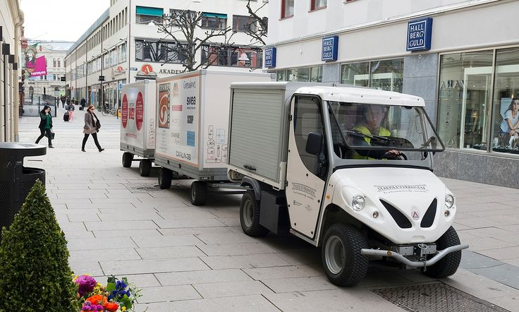 It's a simple idea. The Swedish city's Stadsleveransen system pools deliveries for 500 shops and businesses – drastically reducing shopping centre traffic and freeing up once-congested streets for pedestrians and cyclists