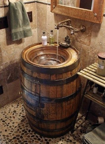 Great sink for a cabin - photo found on Olivia's Heartland