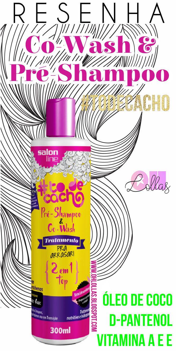 Resenha - Pré-shampoo e Co-wash Tratamento para Arrasar 2 em 1 #TodeCacho. Dá para lavar o cabelo só com condicionador ou usar como pre poo. Produto liberado para no poo e low poo. Cabelos ondulados e cabelos cacheados do tipo 2A ao 4C. Liberado para Low Poo e No Poo #lowpoo #nopoo #cowash #prepoo #preshampoo