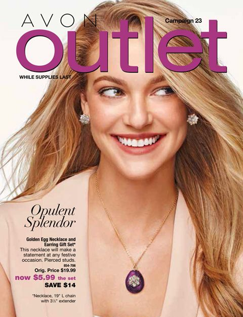 Shop Avon Outlet Campaign 23, 2016 sales October 20 until November 2, 2016 with Avon Rep Beth Bailey at her eStore LipstickShoesAndMore.com #Outlet #Clearance