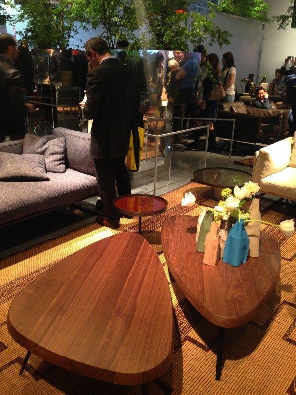Great tables! @Charlotte Cassin Villa-lobos Furniture – #iSaloni 2014