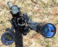 As noted in part one of Bug Out Gun Lights, mounting a light on a weapon, whether long gun or handgun, is a necessary option for every bug in and bug out scenario. The light is not just for discriminating among