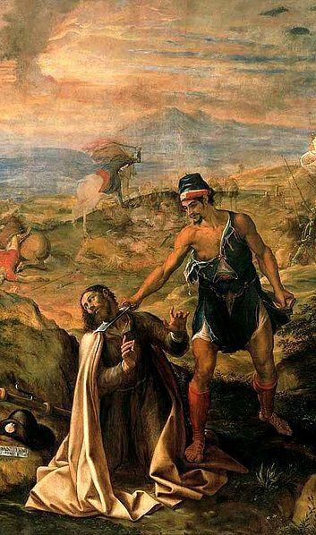 Martirio de Santiago Apostol.