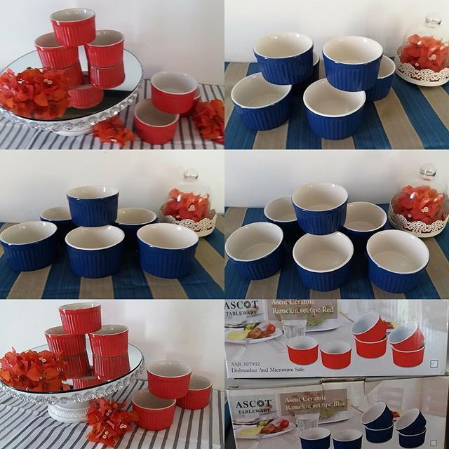Red n Blue Remkins. Now available at TAzzEL Boutique Blue & Red Remkin sets. Last 2 sets so hurry call or whatsap us on our hotline 0776 379424. Delivery available within the city limits. #lankan #homebusiness #tableware #kitchenware #lka #srilanka #food #interior #ikea #lifestyle #bedroom #livingspace #tea #dliving #cupcakes #baking #decor #giftideas #interiorstyling #unique #shopping #interiordesign #myhome #myinterior #colombostreetstlye - Architecture and Home Decor - Bedroom - Bathroom…