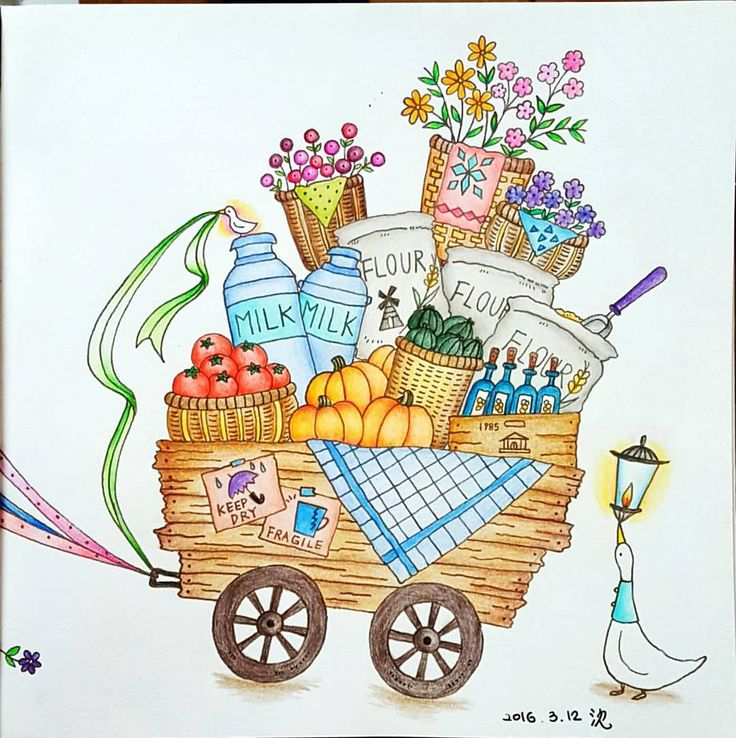 Eriys Romantic Country The Wagon Is Loaded