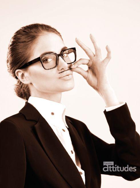 Shooting Lunettes Attitudes Magazine Automne-Hiver 2014 - par Agence 100% et Preview ImageMaker - Premier consumer magazine des Opticiens Indépendants de France !