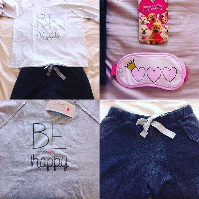 Essas foram as fofuras que recebi da nova coleção @mensageirodossonhos Flores e amores! Em breve vai ter post no blog contando sobre essa coleção que está lindinha demais!! #behappy #floreseamores #mensageirodossonhos #pijama #fofura