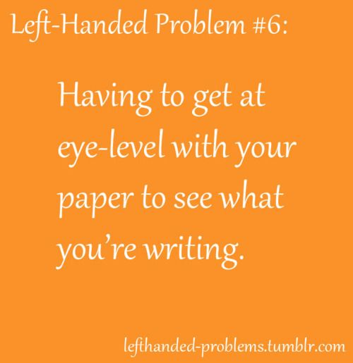 Lets be lefties for the day essay
