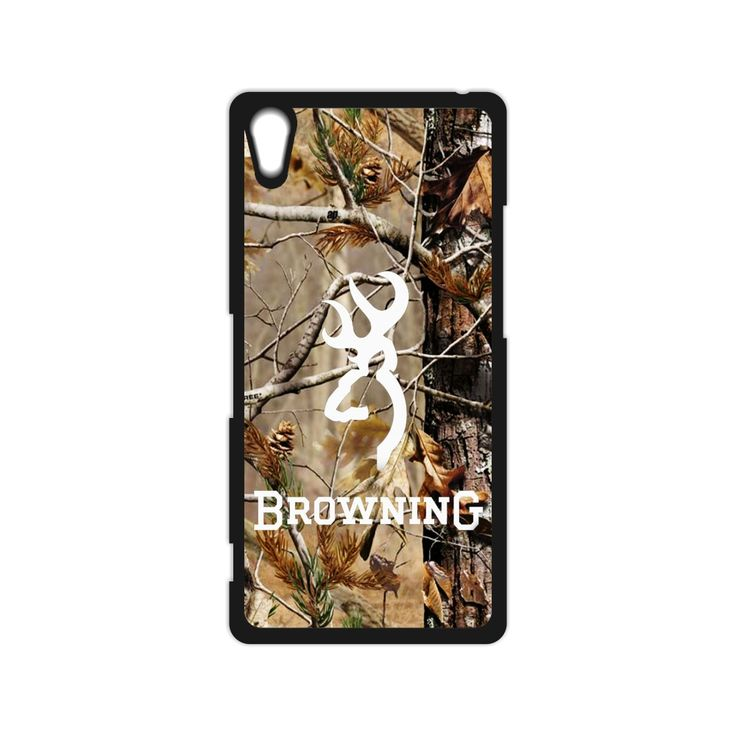 Browning Deer Camo Cutter Camouflage Case for iPhone 4 4S 5 5S SE 5C 6 6S Plus SONY Z Z1 Z2 Z3 Z4 MINI M2 M4 C3 C4 C5 T2 T3