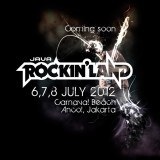 Acara Java Rockin'Land 2012 akan segera digelar satu bulan lagi, tepatnya pada tanggal 6, 7, 8 Juli 2012 di Carnaval Beach, Ancol, Jakarta Utara, Indonesia. Acara yang akan berjalan selama 3 hari berturut – turut tersebut akan digemparkan oleh sederetan band dan musisi yang hadir untuk memeriahkan acara musik tersebut.