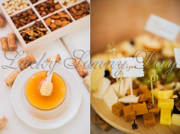 Оформление сырного стола