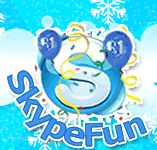 Warning: Contains inappropriate language - don't share site with kids. Mostly cute emoticon fun to share on Skype.