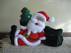 Manualidades navideñas en fieltro 2012 - Imagui