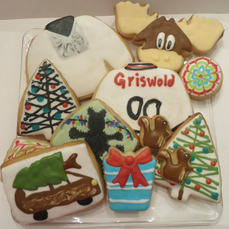 Charming Christmas Vacation Party Ideas Part - 10: National Lampoons Christmas Vacation Cookies.