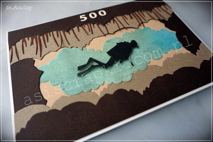 Dla miłośnika nurkowania jaskiniowego z okazji 500 nurkowania. Dla miłośnika nurkowania A także z okazji imienin Podobne
