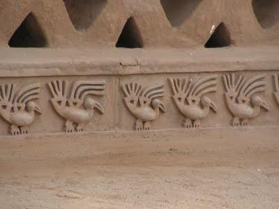 Chan Chan archaeological site, Trujillo, Peru