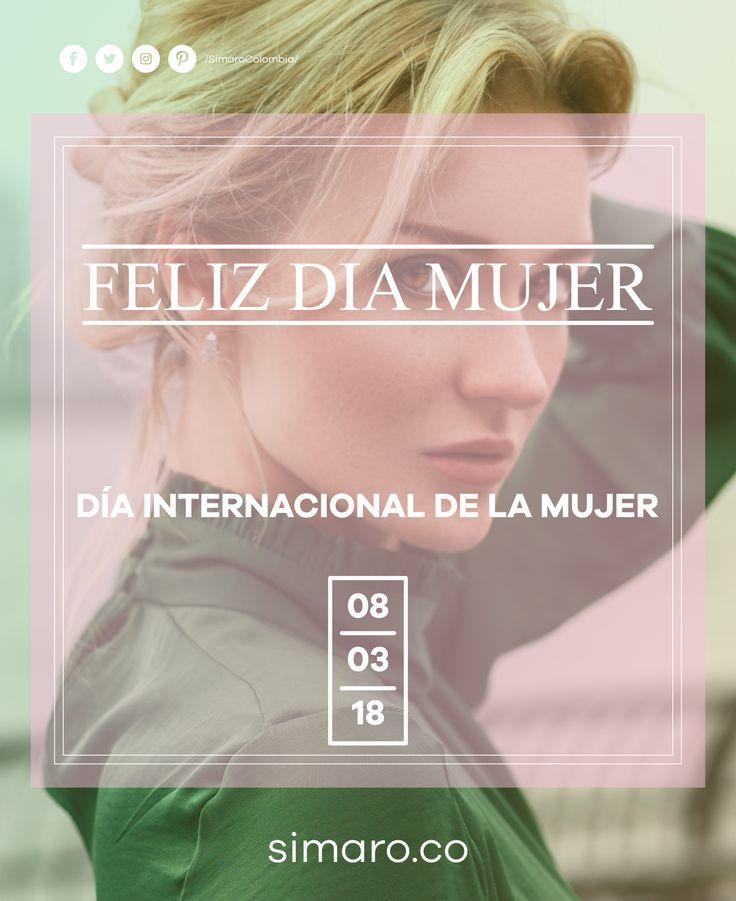 Para todas, Feliz día Internacional de la Mujer 👩🏻👩🏻⚕👩🏻🌾👩🏻🍳👩🏻🎓👩🏻✈👩🏻🚒  http://simaro.co/ #DiaDeLaMujer #WomensDay #M8 #WomensSaleSimaro #SuperWoman #March8th @SimaroColombia #SimaroColombia #SimaroCo 🇨🇴#LoEncontramosPorTi #SimaroBr 🇧🇷 #SimaroMx 🇲🇽 #TiendaOnline #ECommerce