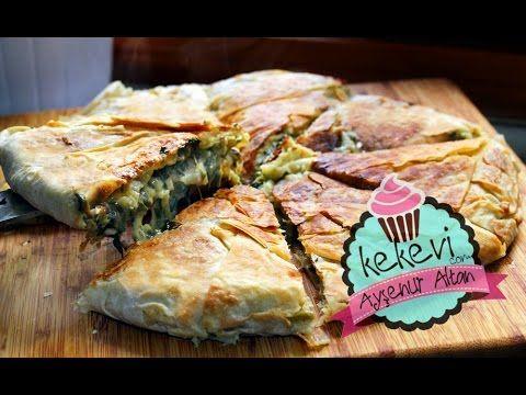 Tavuk, Ispanak ve Beşamelli Tava Böreği / Ayşenur Altan Yemek Tarifleri – Kekevi.com – Ayşenur Altan