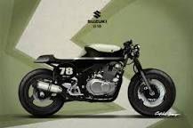 Resultado de imagen de gs500. suzuki cafe racer