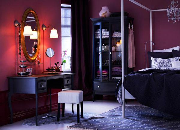 love purple bedrooms!