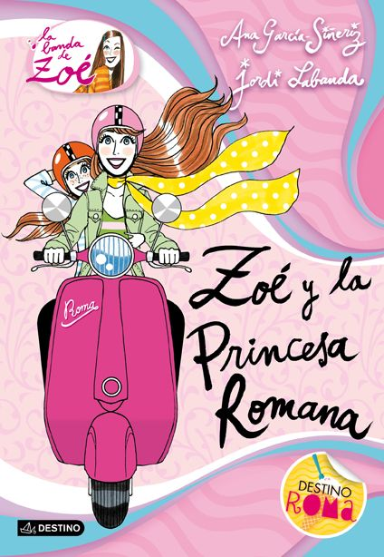 """Seguimos con el quinto título de """"La banda de Zoé"""", colección escrita por la periodista Ana García-Siñeriz, para niños a partir de 9 años. En """"Zoé y la princesa romana"""" (N 850 GAR zoé / a) la banda tendrá que desenmascarar a una impostora aún peor que Amanda, y para ello deberán recorrer la mismísima ciudad eterna."""