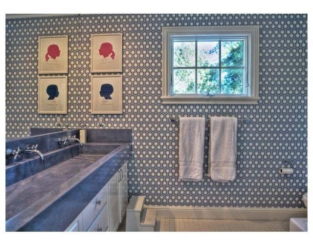 Kriste Michelini Interiors: Michelini Interiors, Alamo Resident, Kids Bathroom, For Kids, Trough Sinks, Bathroom Ideas, Design Directory, Krist Michelini, Kid Bathrooms