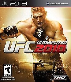 #UFC #Undisputed 2010 (Sony Playstation 3) NIP (292B)  Brand new, still in original factory wrapper   Extra features - only on the PS3      Exclusive fighters, exclusive gameplay plus 5 of the  greatest fights in UFC history on blu-ray. Lesnar, St-Pierre, Penn, Liddell, Silva, and more!