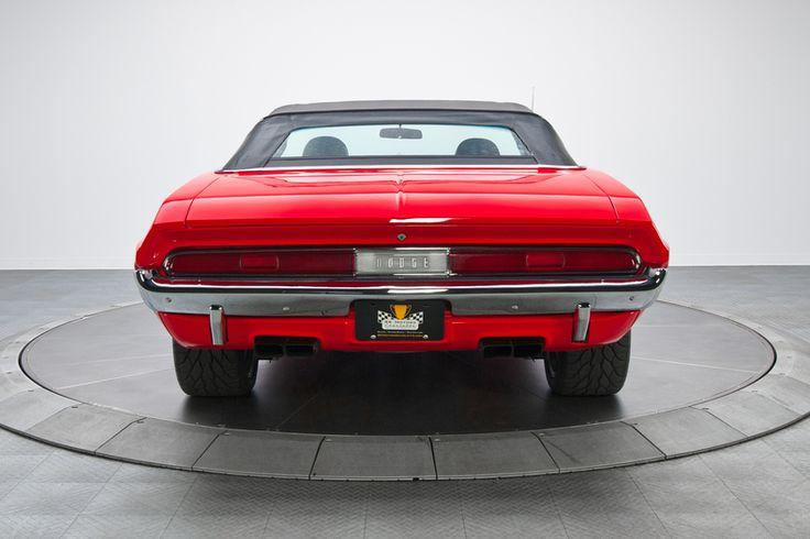 1970 Dodge Challenger R/T Red