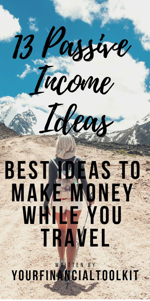 13 Passive Income Ideas