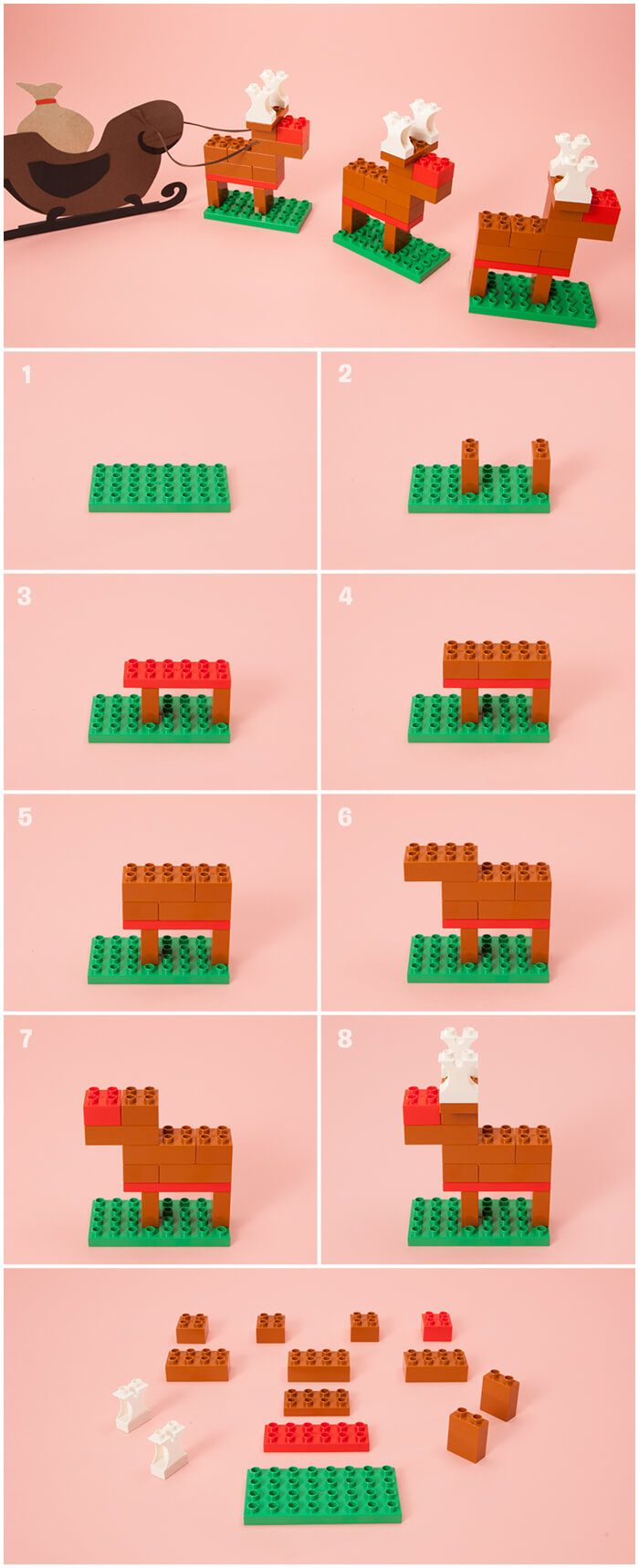 DIY Reindeer - stocking fillers and holiday decorations - Articles - Family LEGO.com