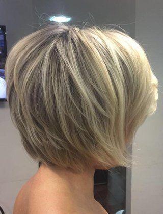 40+Short+Bob+Hairstyles:+Layered,+Stacked,+Wavy+and+Angled+Bob+Cuts