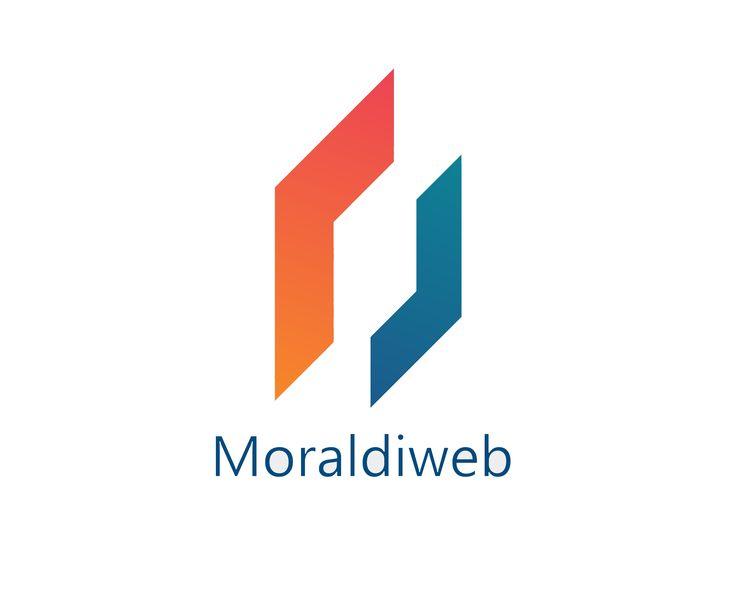 """Il nuovo logotipo della Moraldiweb, l'azienda produttrice del programma per leggere spartiti """"Moraldiweb Music Manager"""""""