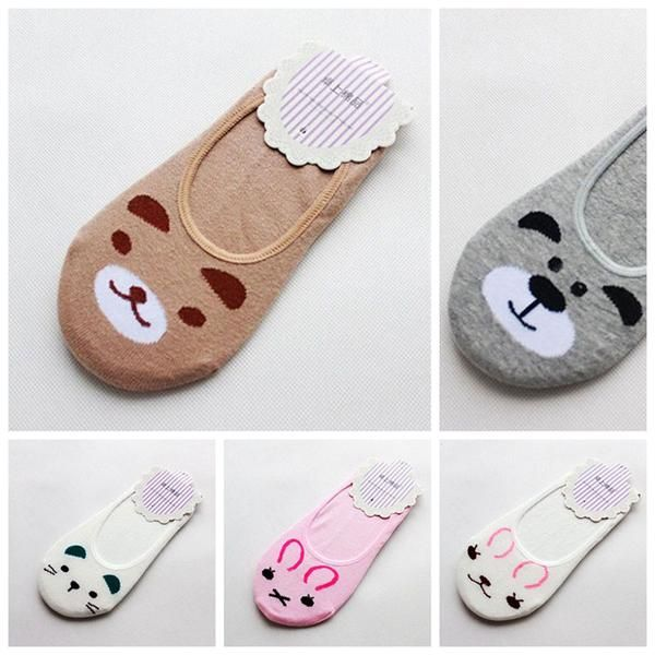 Fashion Funky Dog & Cat Invisible Cotton Socks / Liners for Women & Ki – Four Paw Pals